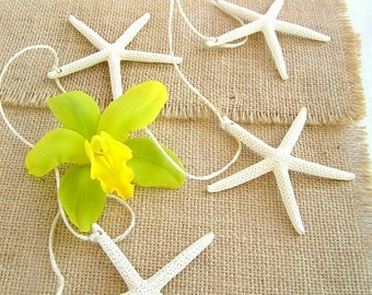 Starfish Garland, White Starfish, WEDDING Garland, PARTY Decor, Beach Wedding, Coastal Wedding, HOME Decor, Wedding Decor,