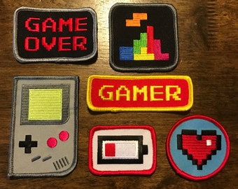 "The Wooden Arcade ""Patch Set"""