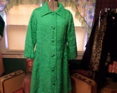 Vintage Green Jacket Made Expressly for The May Co British Hong Kong