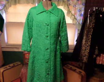 Vintage Green Jacket Made Expressly for The May Co British Hong Kong