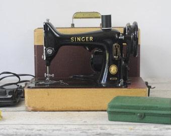 Vintage Portable Singer Sewing Machine 99K 1955 Singer Sewing Machine