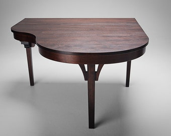Piano Bar Table, Custom Dining Table, Dining Table for Keyboard, Jazz Table