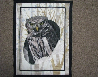 All embroidered Pygmy Owl