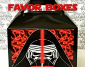 Star Wars Kylo Ren Inspired Favor Boxes