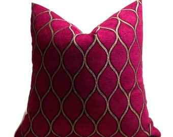 Fuschia pillow Etsy