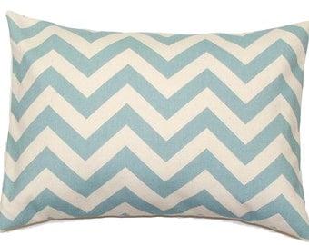 BLUE CHEVRON PILLOW.16x20, 16x24 or 12x20 inch.Pillow Cover.Decorative Pillows.Housewares.Blue Chevron Pillow.Blue Cushion.Blue Lumbar.cm