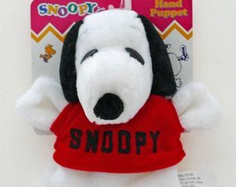 Plush Snoopy Hand Puppet