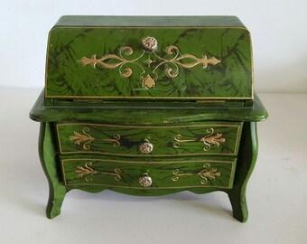 Ornate Chest Style Jewelry Box