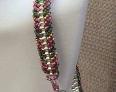 Hot Pink Handmade Beaded Bracelet