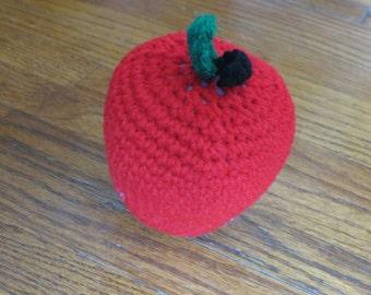 Play Food, Apple, Crochet Play Food, Fruit, Crochet Apple, Crochet Fruit, Apple Toy, Home Decor