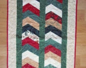 Quilted Christmas Table Runner Topper