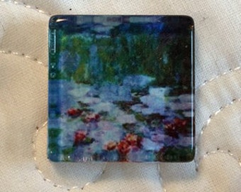 Monet Glass Magnetic Needle Nanny Needle Minder