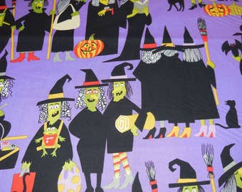 Alexander Henry Witchway Halloween Fabric 1 Yard