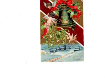 Christmas Bell and Angels