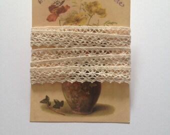 Cotton Lace Vintage Style Ribbon