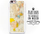 Map iPhone 6 Case - Map iPhone 6S Case Vintage Map iPhone 5S Case Map iPhone 5 Case Pastel iPhone 5 Case Vintage Mp iPhone 5C Case