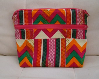Made To Order: AFRICA series, wet/dry bag, pink print.