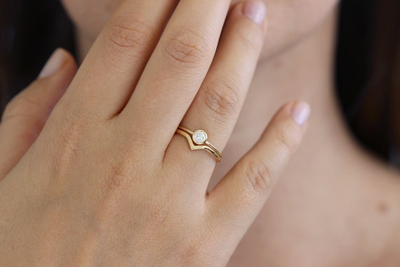 like this item - Simple Wedding Ring Sets