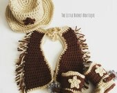 Baby Cowboy Outfit - Made To Order