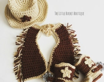 Baby Cowboy Outfit // Made To Order