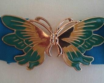 Blue Butterfly Belt circa Carrie Bradshaw