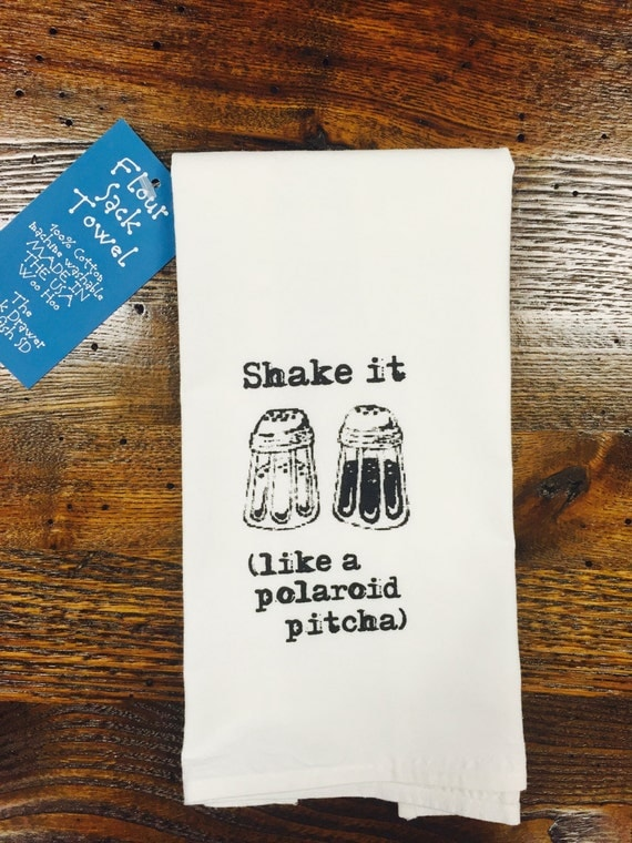 Shake It Like A Polaroid Pitcha by TheJunkDrawerDesign on Etsy