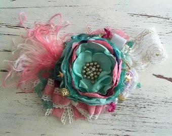 Baby Girl Headband- Matilda Jane Holiday- Christmas Headband- Baby Headband-Christmas Headband- Flower Girl Headband- Newborn Headband