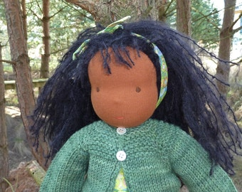 Nestling Amila 15 inch with dress, cardigan, pants and shoes