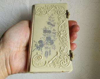 Antique belgian missel, Bakelite cover, Religious book, Paroissien, 1920, France, Vintage
