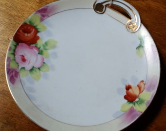 Vintage Noritake Morimura Brothers Hand Painted Nappy Serving Dish - Japan
