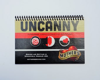 Mother's Brewing Uncanny Notebook - Upcycled