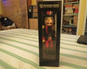 Boston Red Sox nutcracker action figure 2014 the memory company llc still sealed in box 12 inches tall