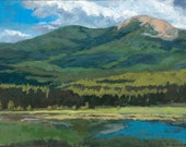 Baldy Mountain from Wilson Mesa - Mark's View - Philmont - New Mexico - Limited Edition Fine Art Landscape Print