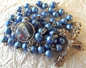 Our Lady of Fatima Blue Rosary