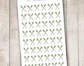 Lacrosse Sticks - Set of 48