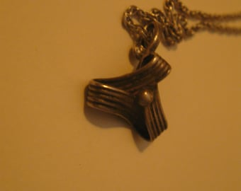 William Spratling Pendant Sterling necklace vintage Taxco Mexico Jewelry