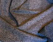 Black & Grey Wool Nylon Boucle Coating 5.5 yds.
