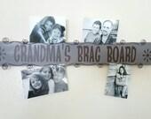 Custom Photo Card Display with Custom Saying or Phrase - READY TO SHIP