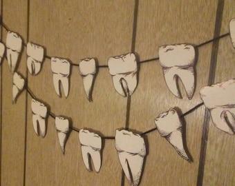 Human Teeth Banner