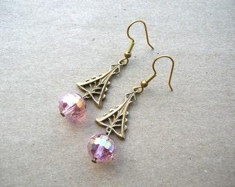 Victorian Wedding Earrings - Victorian Style Jewelry - Victorian Style Earrings