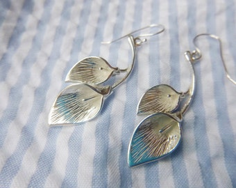 Sterling Silver Calla Lillies Earrings