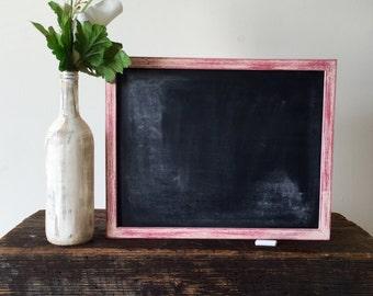 Rustic Chalkboard - Wedding Chalkboard - Blank Chalkboard - Framed Chalkboard -