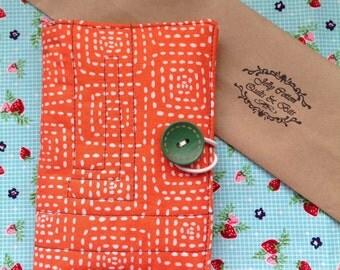 Fabric Note Pad Organiser