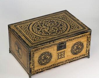Celtic Knots Wooden Box
