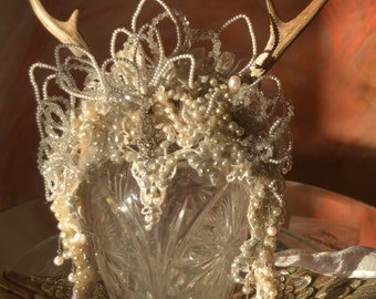 PaganPrincess Wedding Winter Goddess Headdress