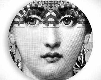 stars, Lina Cavalieri melamine plate