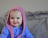 Elsie's Crochet Hood Hat - Instant Download PDF Crochet Pattern
