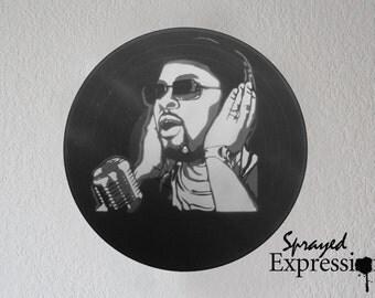 Musiq Souldchild Vinyl Record Painting