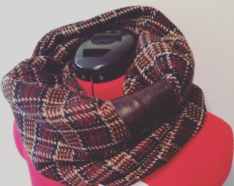 SALE - winter infinity scarf