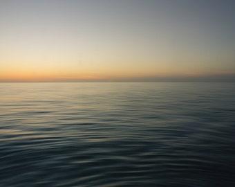 Ocean Ripples, Barefoot Beach, Florida - Ocean Photography, Wall Art, Home Decor